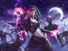 liliana, vess, ведьма