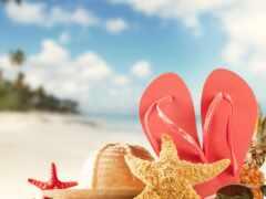 отдых, пляжный, море