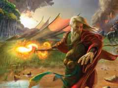 дракон, druid, магия