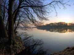 озеро, красивые, landscape