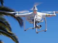 фотоаппарат, drone, квадрокоптер