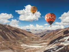 air, hot, balloons