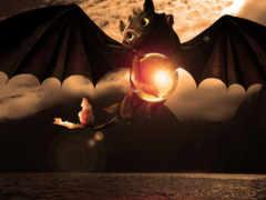 беззубик, дракона, приручить Фон № 111880 разрешение 1920x1080