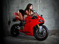 фотосессия, мотоцикле, мотоциклах