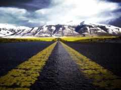 дорога, рисунок, жизни