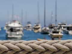 лодка, веревка, яхта