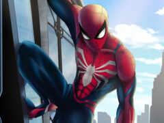 marvel, spiderman, art