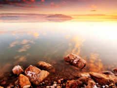 берег, умиротворение, природа
