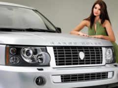 rover, range, девушка