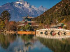 китаянка, china, гора