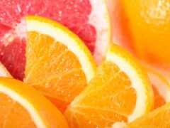 оранжевый, цитрус, порт