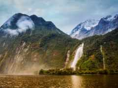 новая, зеландия, priroda