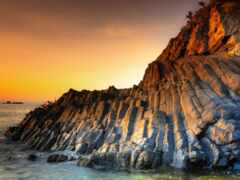coastal and oceanic landforms, скалы