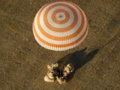 парашютный спуск