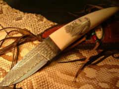охотничий нож, лезвие
