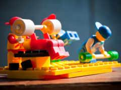 качки, спорт, lego