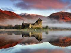 fond, шотландия, разруха