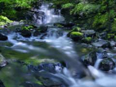 ручей, река, водопад