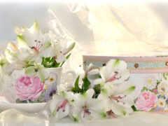facebook, cover, цветы