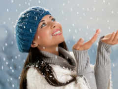 winter, devushki, красивые