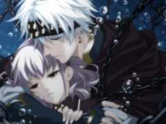 anime, боль, art