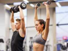 пара, gym, workout