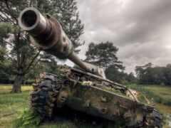 армия, танк, parede