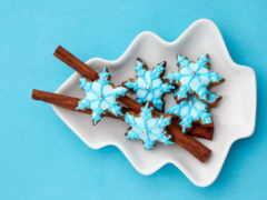 cookie, новогоднее, глазурь Фон № 164654 разрешение 2560x1600