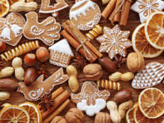 cookie, новогоднее, палочки