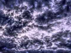 облака, облако, небо