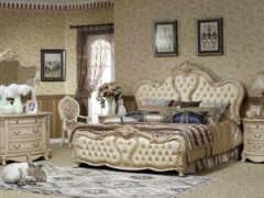классические, спальни, мебель