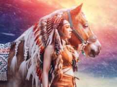 indeec, лошадь, devushka