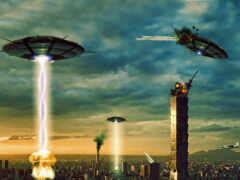 alien, invasion, dream