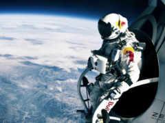 прыжок, стратосферы, red