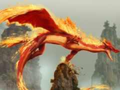дракон, огонь, злость