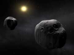 астероид, объект, system