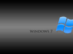 синий, windows 7
