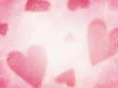 розовый, сердечки, фоны