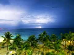 bahamas, paisaje, del