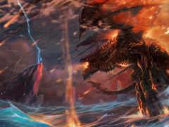 warcraft, дракон, world