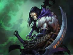 darksiders, смерть Фон № 33715 разрешение 2560x1600