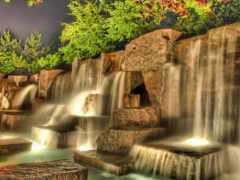 водопад, different, korablus