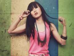 девушка, asian, стиль
