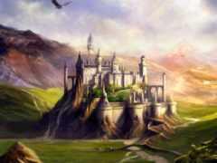 сказочные, замки, музыка