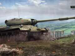 world, ис-4, танк