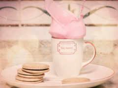 розовый, cookies, glass
