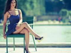 платье, девушка, женщина