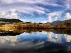 water, отражение, sorento