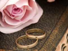свадебный, postcard, tin
