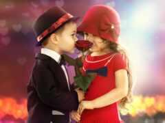 love, boy, funart